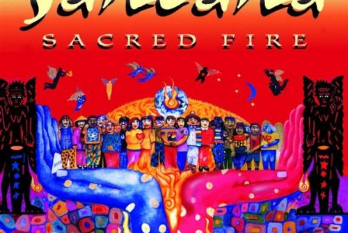 Santana Sacred Fire Live In South America
