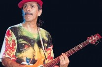 Santana Live Wearing Michael Rios T-Shirt 1