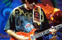 Santana Live Wearing Michael Rios T-Shirt 2