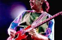 Santana Live Wearing Michael Rios T-Shirt 4